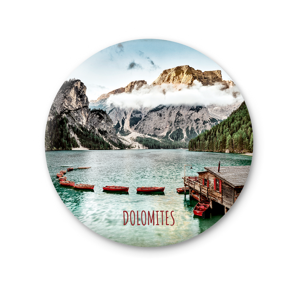 Round Magnet - Lake Braies