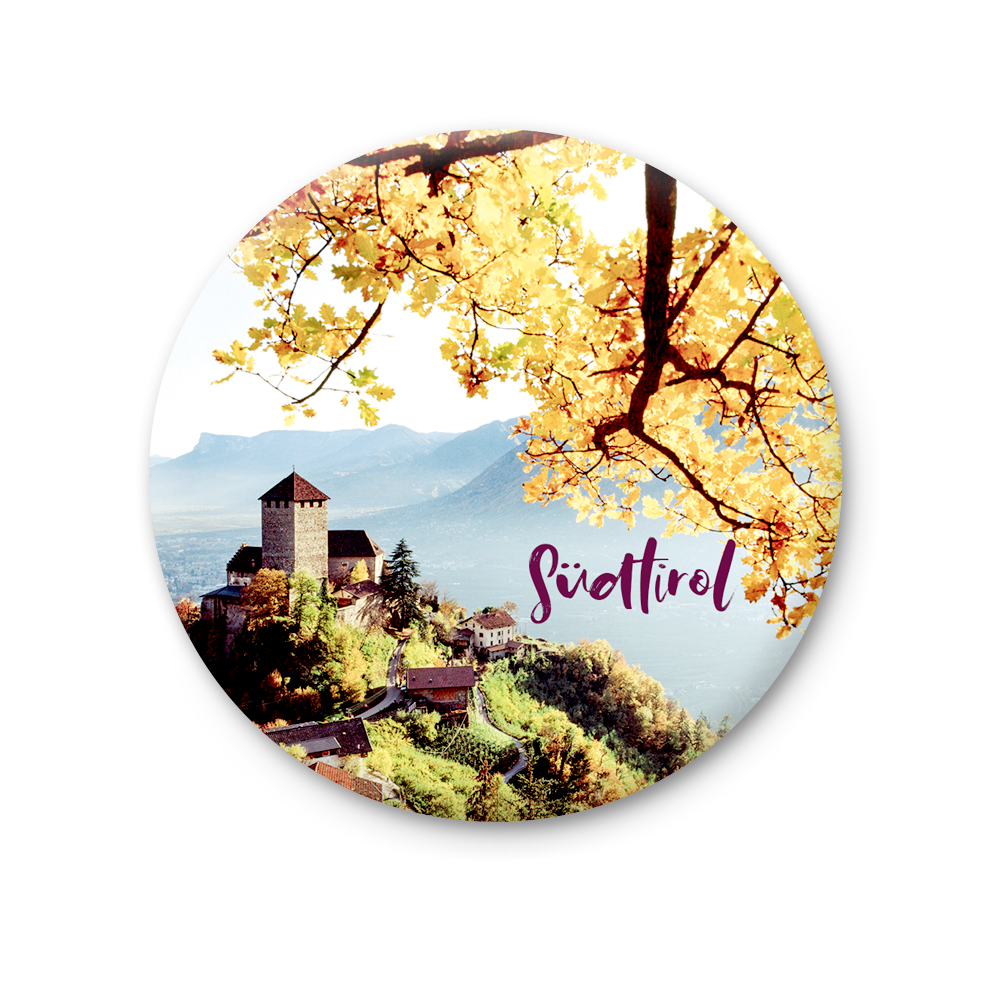 Round Magnet - South Tyrol autumn