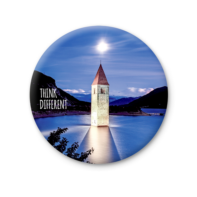Magnete Rotondo - Lago di Resia, Think Different