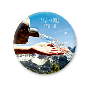 Magnete Rotondo - Save nature, save life