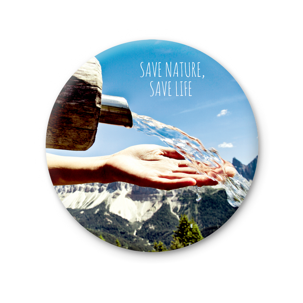 Round Magnet - Save nature, save life