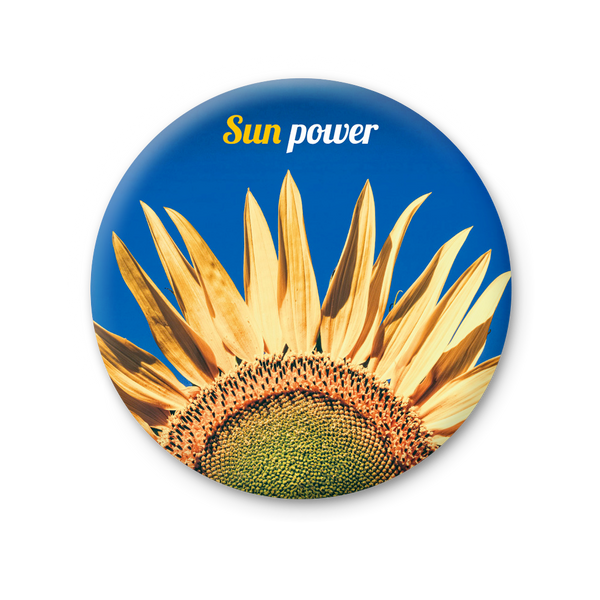 Round Magnet - Sun Power