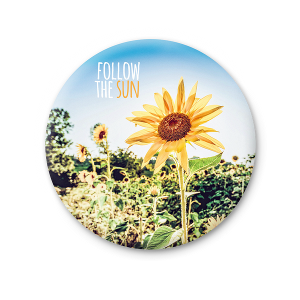 Round Magnet - Follow the Sun