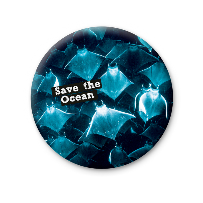 Magnete Rotondo - Save the Ocean