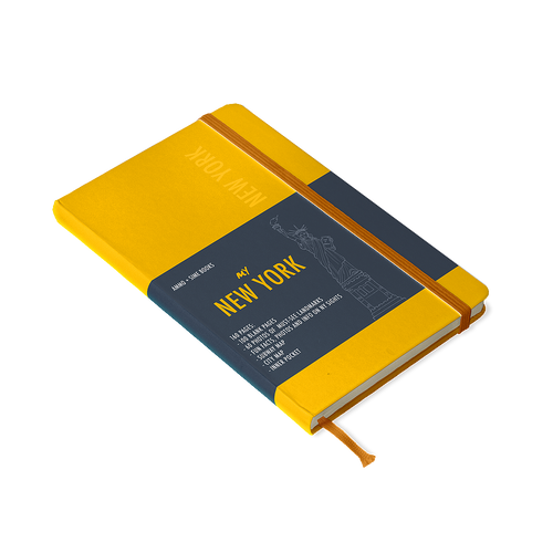 Cover Yellow Saffron  My New York - Notebooks - Simebooks