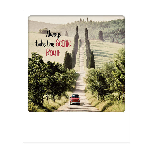 Polaroid Postcard, Sime Polaroid Postcard, Sime © Tim Mannakee / Always Take the Scenic Route