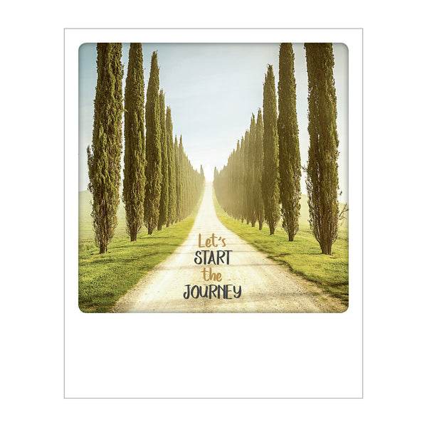 Polaroid Postcard, Sime © Stefano Termanini / Let's Start the Journey