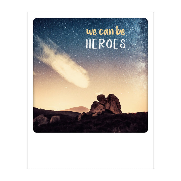 Polaroid Postcard, Sime © Antonino Bartuccio / We can be Heros