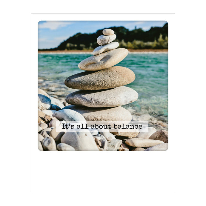 Polaroid Postcard, Sime © Olimpio Fantuz / It's all about balance