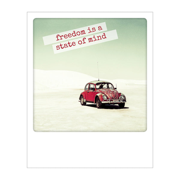 Polaroid Postcard, Sime © Jonathan Scott / Freedom is a state of mind