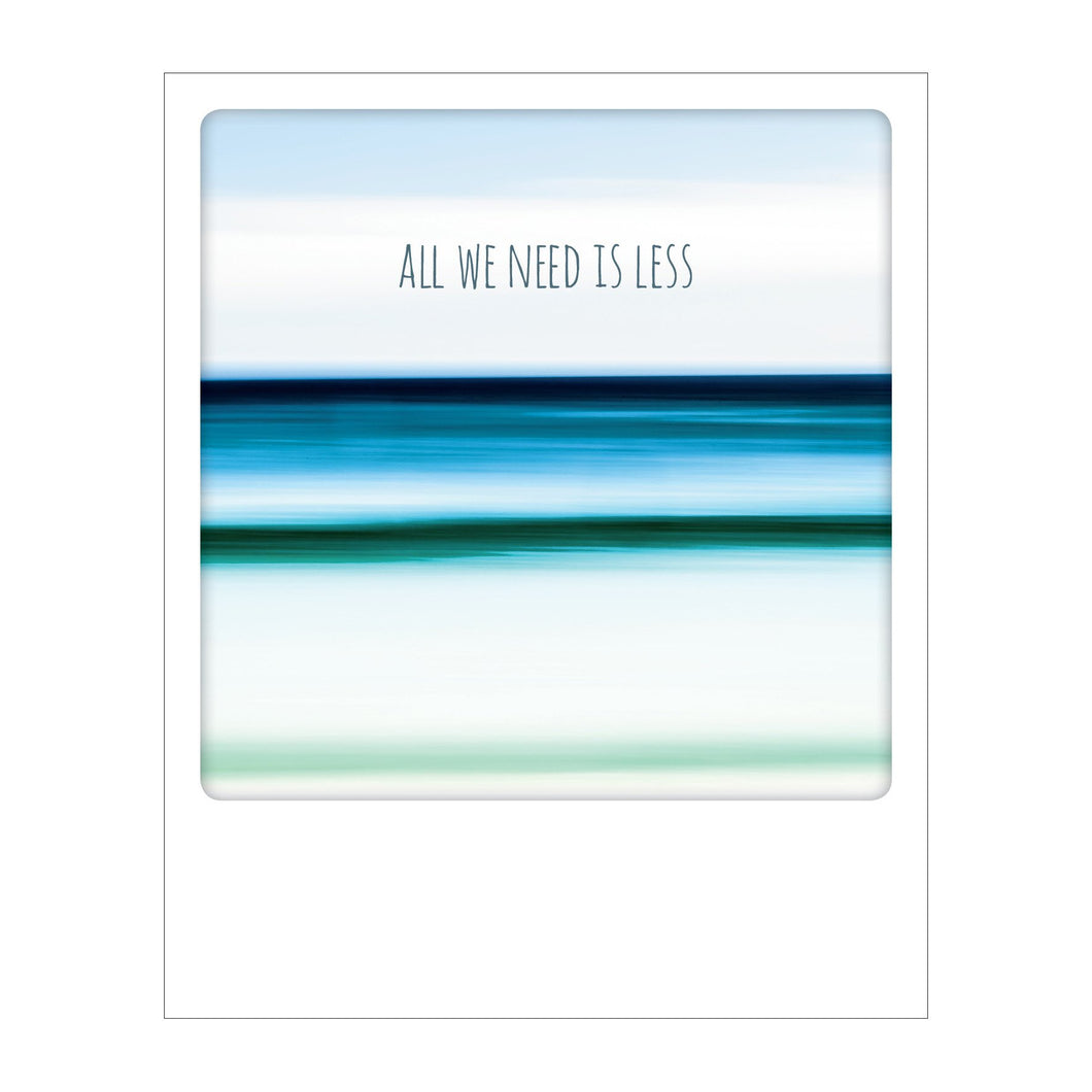 Polaroid Postcard, Sime © Pietro Canali / All we need is less Search