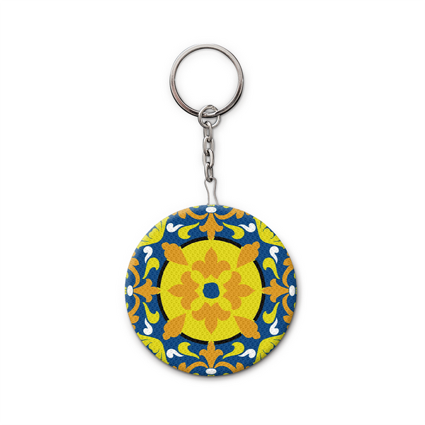 Keychain and Bottle Opener, Quatrefoil