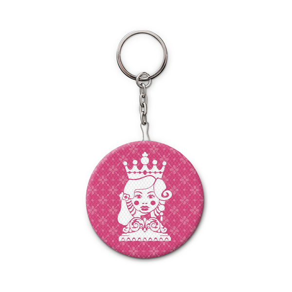 Keychain and Bottle Opener, Pink Mora 017