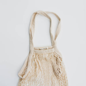 French Market Tote: Farmer's Market Cotton String Bag