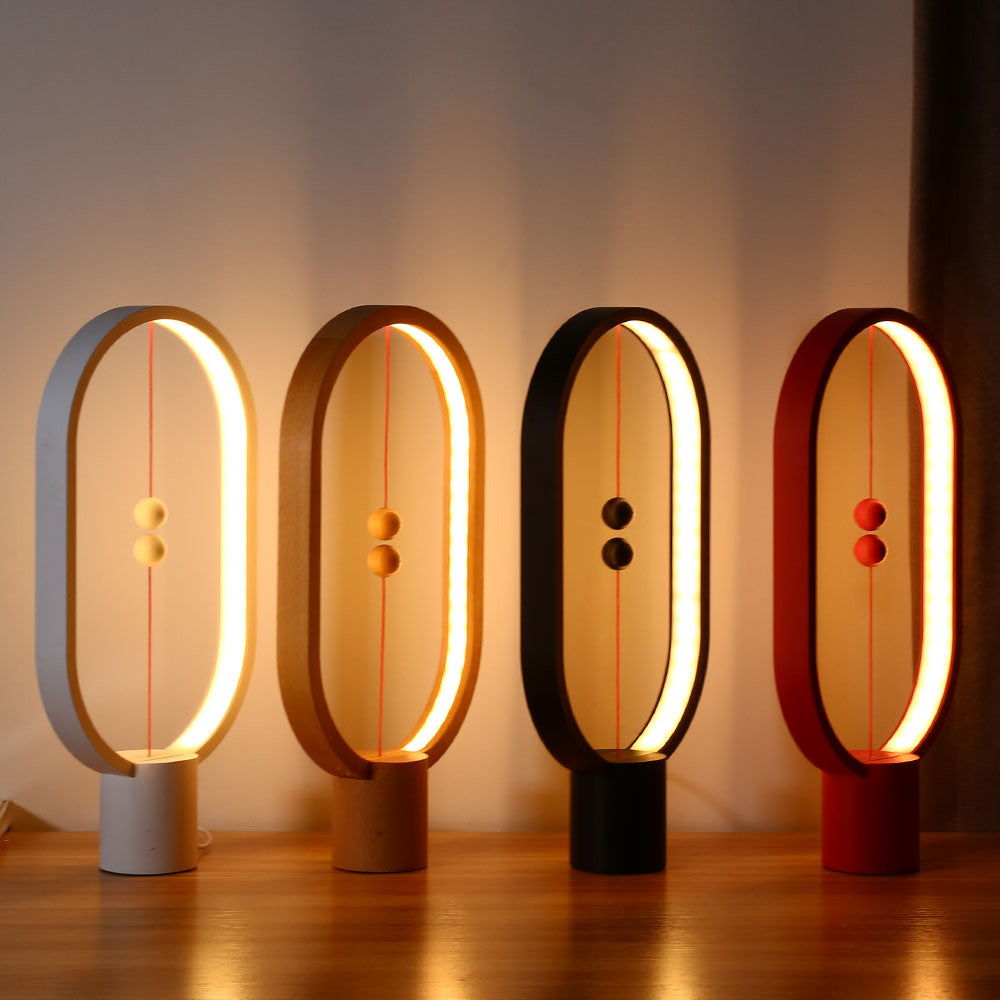 Creative Smart Balance Magnetic Switch LED Table Night Light Lamp