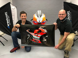 Nicky Hayden D16 GP11 Show Bike - Special Edition Art Print