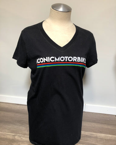 Iconic Motorbikes T-Shirt - Women's