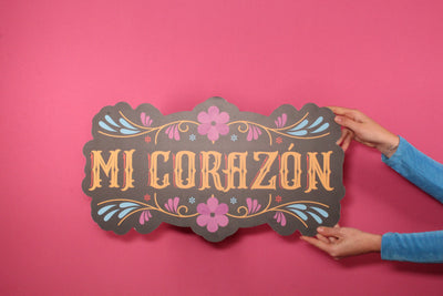 Spanish Wedding - Mi Corazón Cut-Out