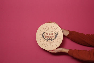 Wood Outdoor Badges -  No Guts No Story