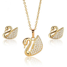 Load image into Gallery viewer, Heart Beat Design Necklace Set