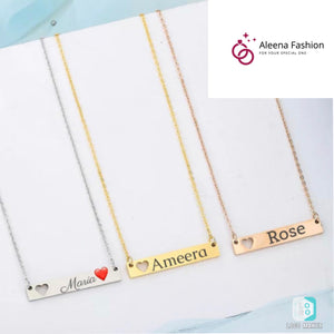 Personalized Name  Pendants Necklace