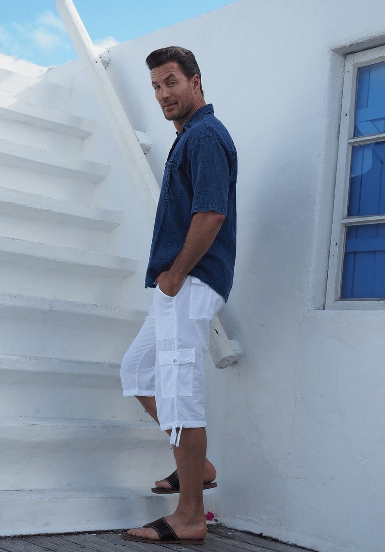 CARGO SHORT / ORGANIC COTTON