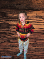 Load image into Gallery viewer, Rainbow sweater - Children-Alpaca wool