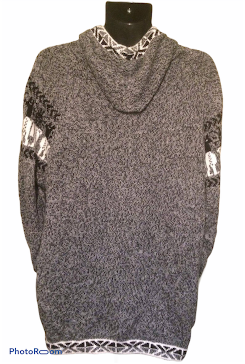Unisex hooded sweater / Alpaca wool