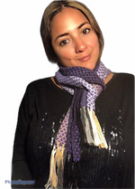 Load image into Gallery viewer, Coco Skinny Scarves / Alpaca wool