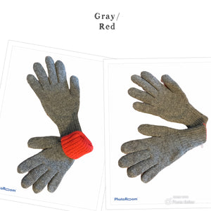 Fine Quality Reversible Alpaca Gloves