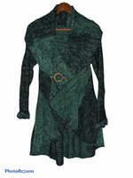 Load image into Gallery viewer, Multiwear Pin Sweater- coat / Alpaca wool.