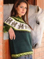 Load image into Gallery viewer, Vintage Style sweater /Alpaca wool