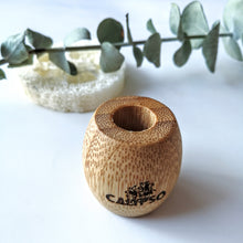 Charger l'image dans la galerie, SUPPORT EN BAMBOU pour brosse à dent - Ecofriendly Bamboo toothbrush holder