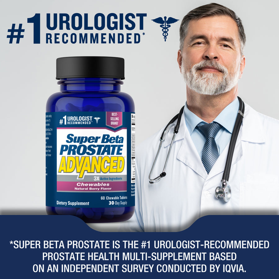 Super Beta Prostate Advanced Chewables