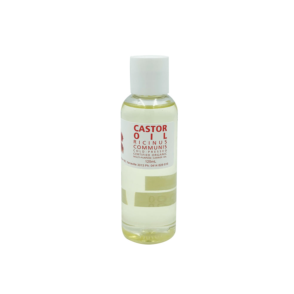 Cold-Pressed Organic Castor Oil (125ml)