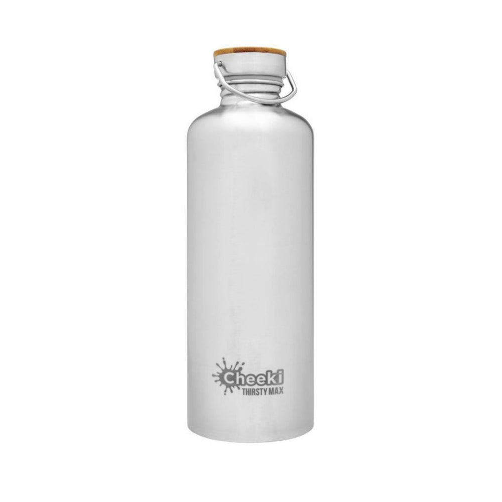 1.6L Stainless Steel Drink Bottle, Silver