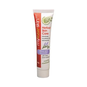 Olive and Lavender Herbal Skin Care Tube