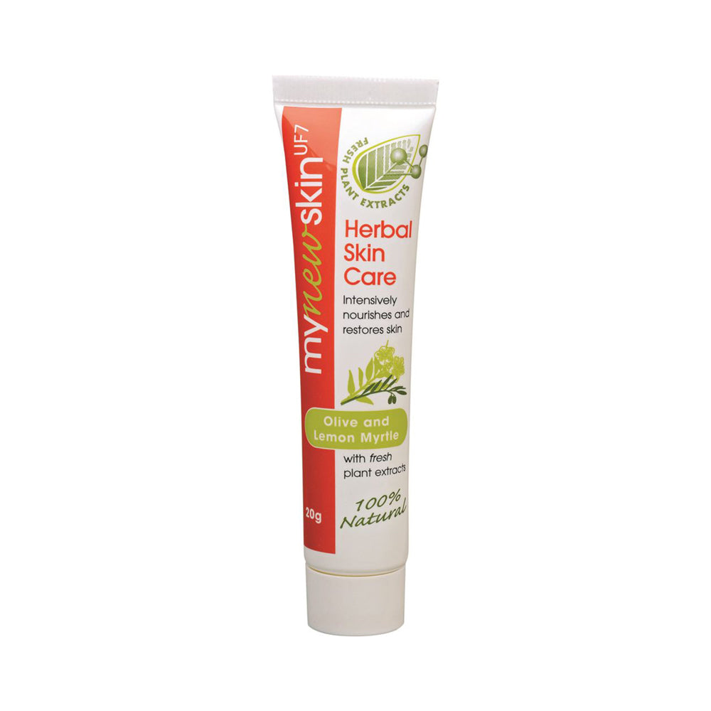 Olive and Lemon Myrtle Herbal Skin Care Tube