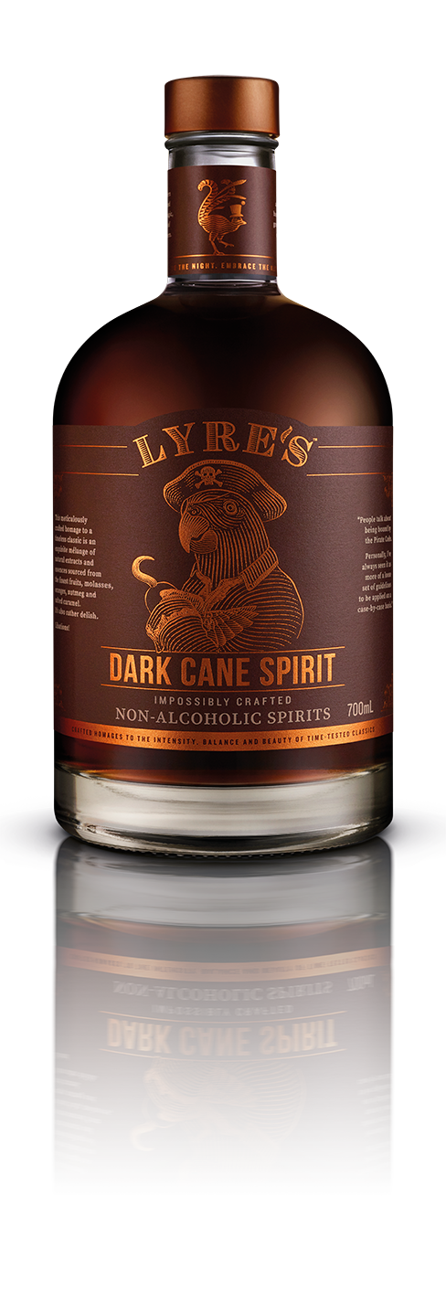 Sipfree-Lyres-Non Alcoholic-Spirit-Dark Cane Spirit