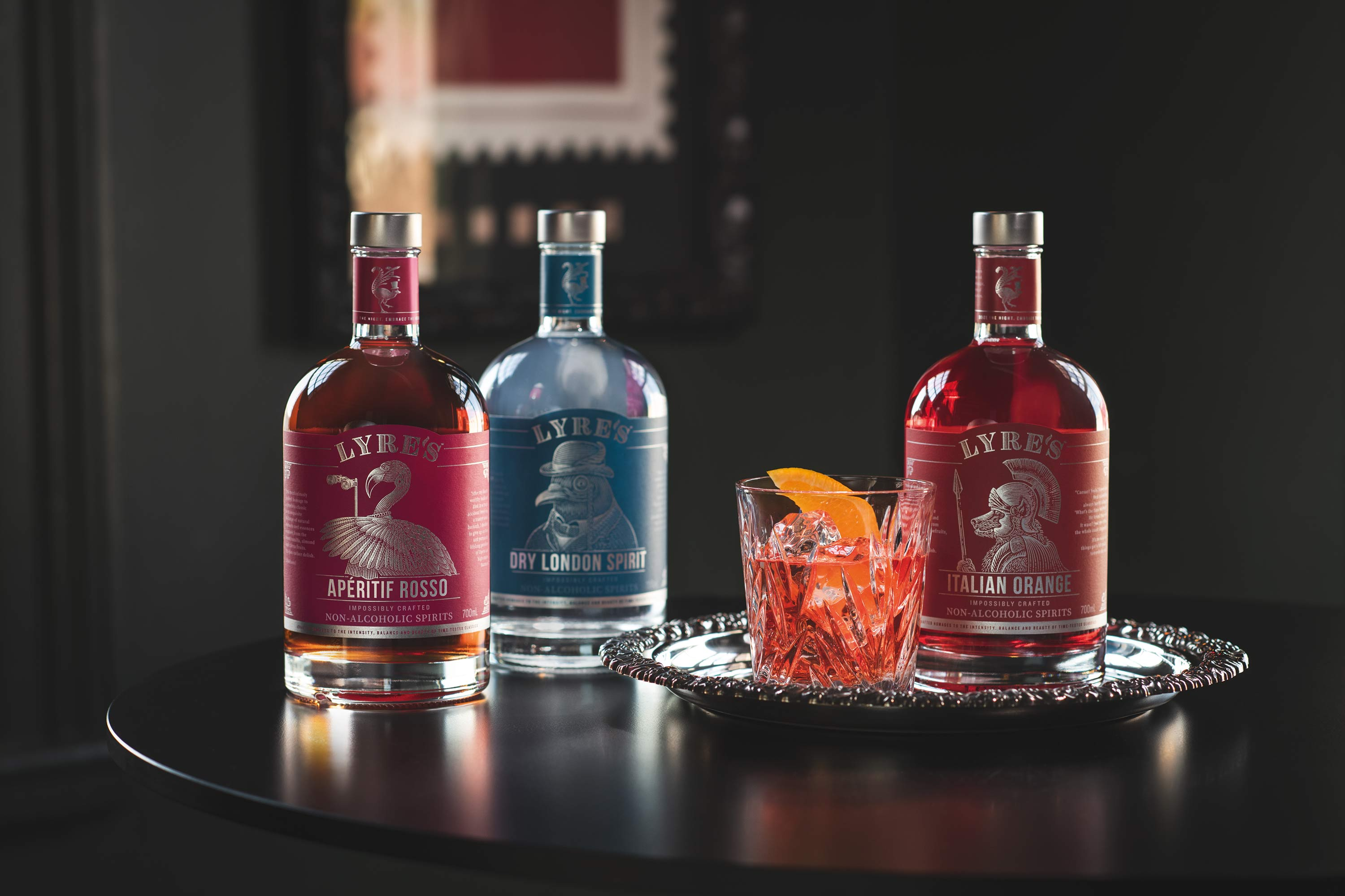 Sipfree-Lyres-Non Alcoholic-Cocktail-Set-Negroni