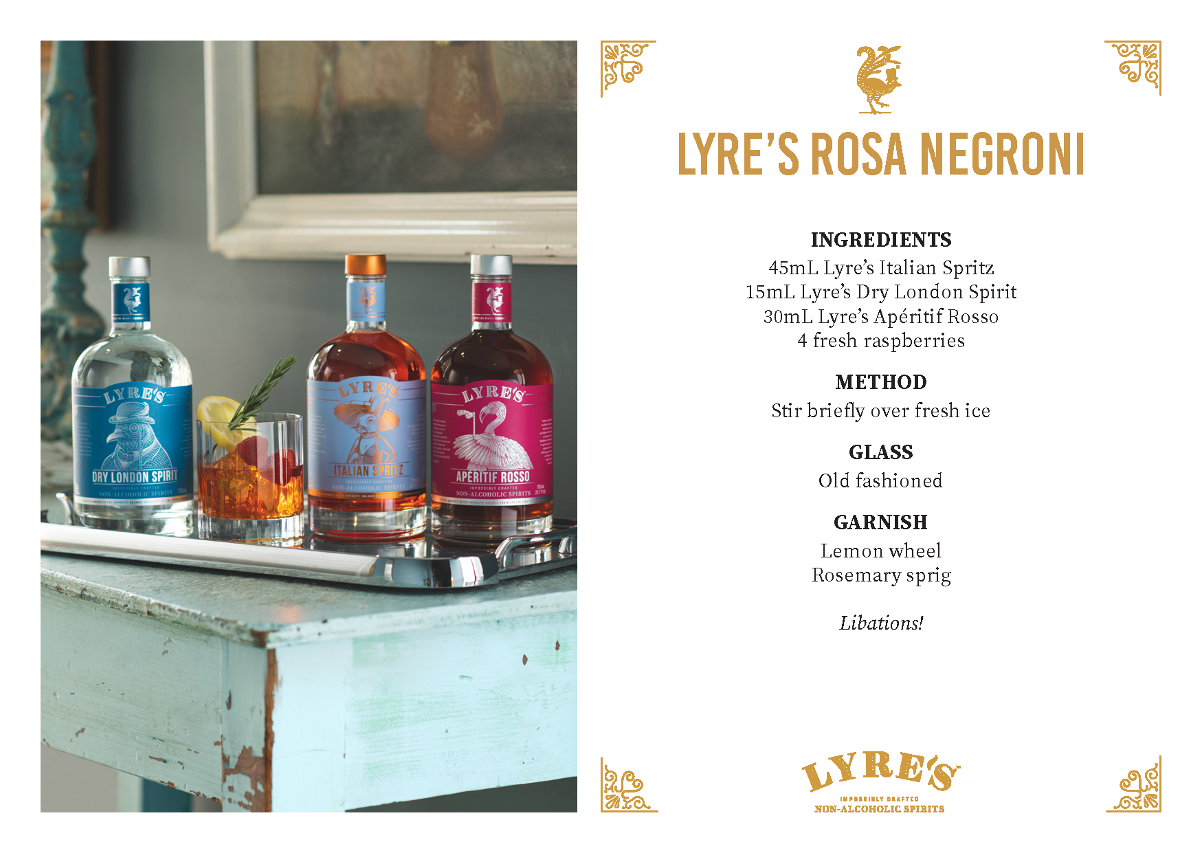 sipfree-lyres-non alcoholic-cocktail-recipe-rosa-negroni