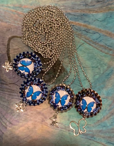 Bottle Cap Necklaces on Ball Chain (Assorted Motifs)