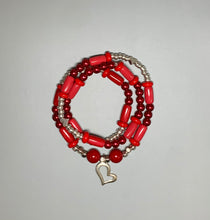 Load image into Gallery viewer, 2-in-1 Necklace/Bracelets (Valentine's Day)