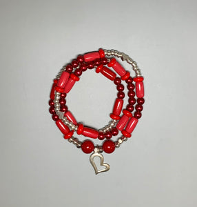 2-in-1 Necklace/Bracelets (Valentine's Day)