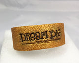 Gold Dream Big Cuff bracelet