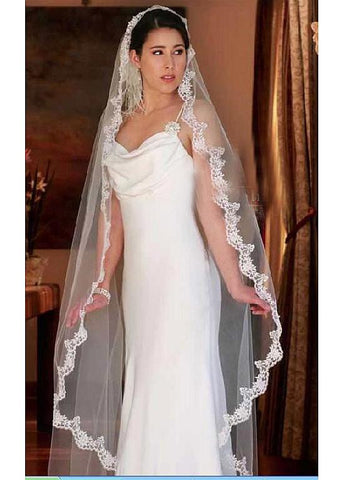 Beautiful Veil Match Your Elegant Wedding Dress For stunning Bride