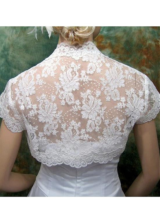 Pretty Lace Women's Jacket Match Your Fabulous Dress - The Wedding LookBook