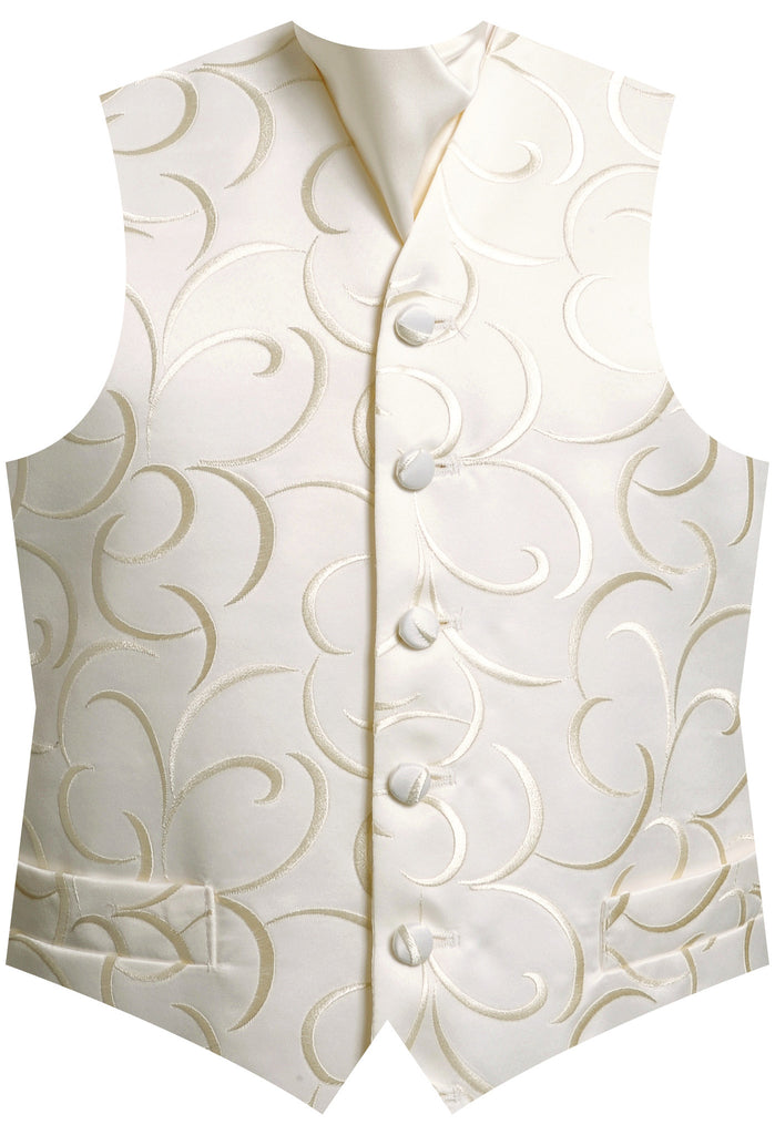 Surrey Wedding Shop Broadway Waistcoat Ivory for Hire