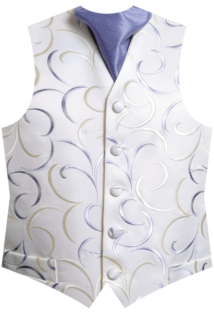 Surrey Wedding Shop Broadway Waistcoat silver for Hire