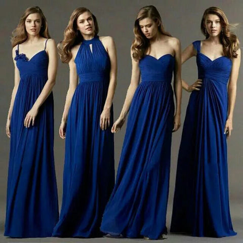 Amazing Navy Blue A-Line Bridesmaid Dress